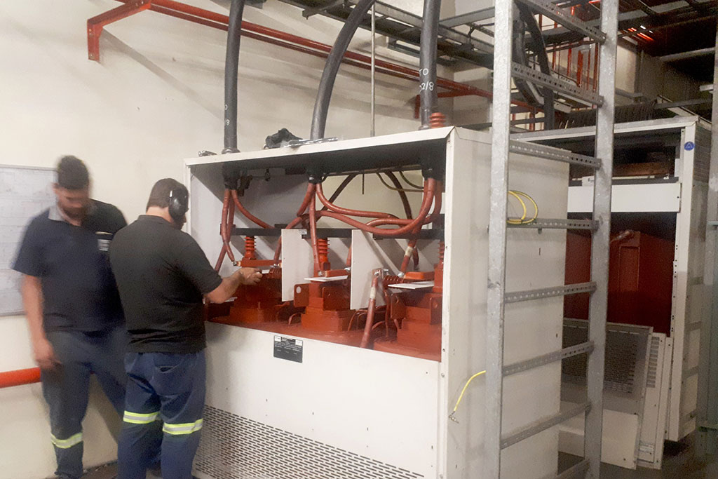 Commissioning of the reactor by Trafo Power Solutions underway.
